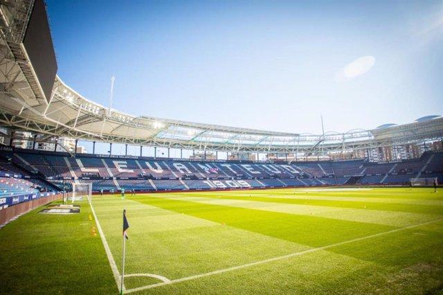 Imagen del estadio Ciudad de Valencia del Levante UD.