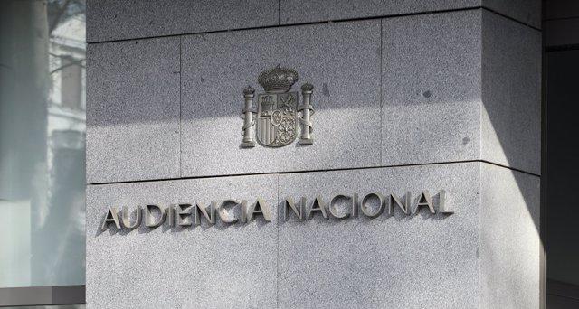 Archivo - Arxiu - Imatge de la façana de l'Audiència Nacional (Madrid)