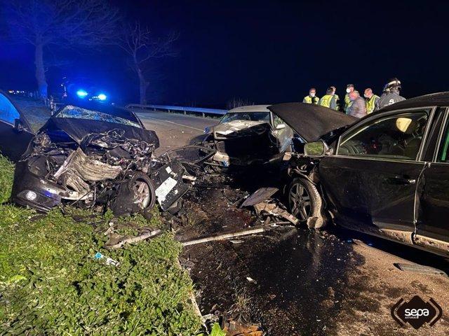 Accidente de tráfico con una joven fallecida en Tineo.