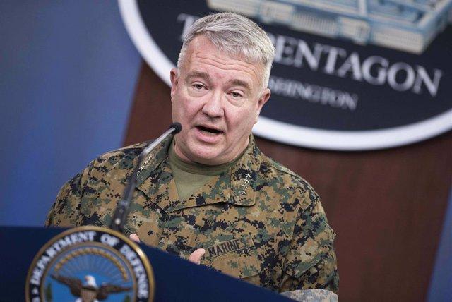 El jefe del Comando Central de Estados Unidos, el general Kenneth McKenzie