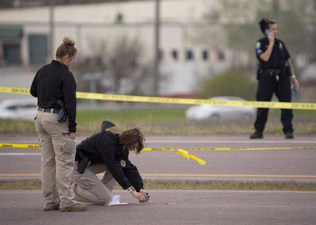 Imagen de archivo de un tiroteo en una ciudad del estado de Minesota, en EEUU.