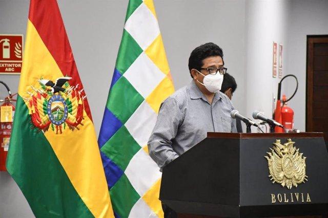 El nuevo ministro de Desarrollo Rural de Bolivia, Remy Gonzales.