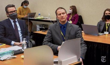 EUA.- Derek Chauvin és declarat culpable de tots els càrrecs d'assassinat per la mort de George Floyd