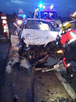 Accidente en Chillaron de Cuenca