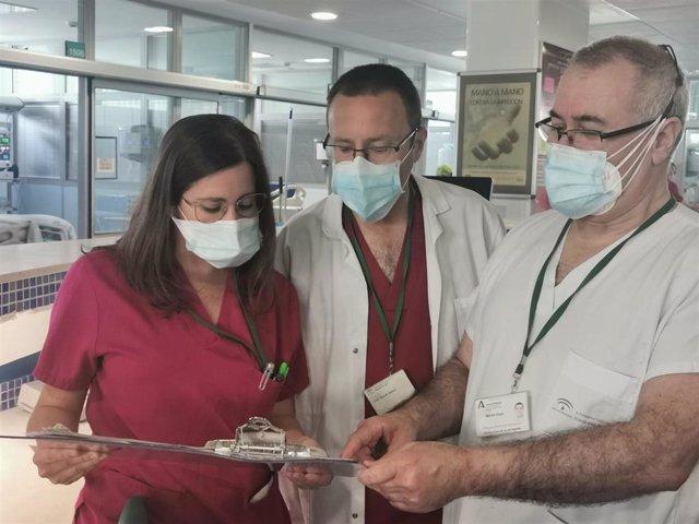 Profesionales sanitarios del Hospital Costa del Sol de Marbella hacen balance de la donación de órganos y tejidos en 2020