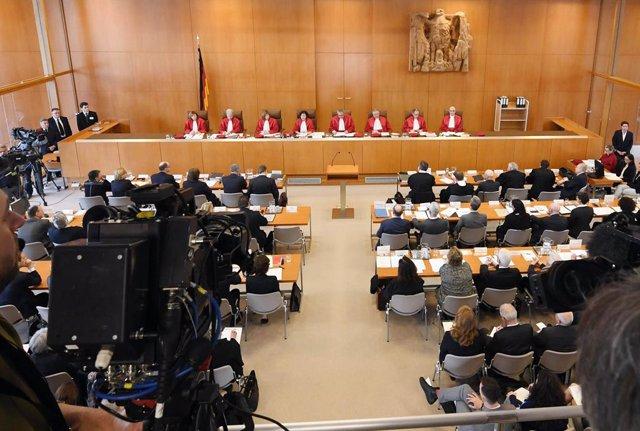 Archivo - Arxiu - Tribunal Constitucional d'Alemanya.