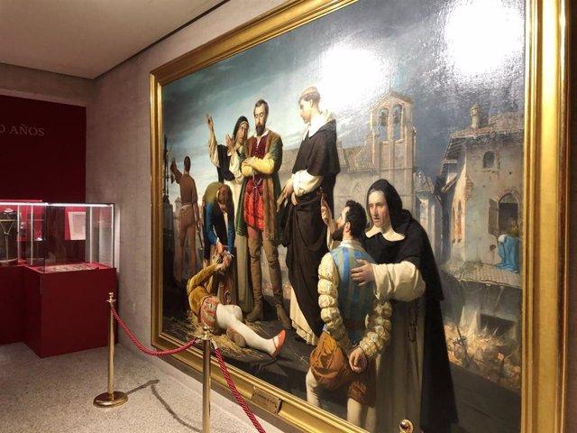 'La Ejecución De Los Comuneros De Castilla', De Antonio Gisbert Pérez, Una De Las Piezas Destacadas De La Exposición 'Comuneros. 500 Años'.