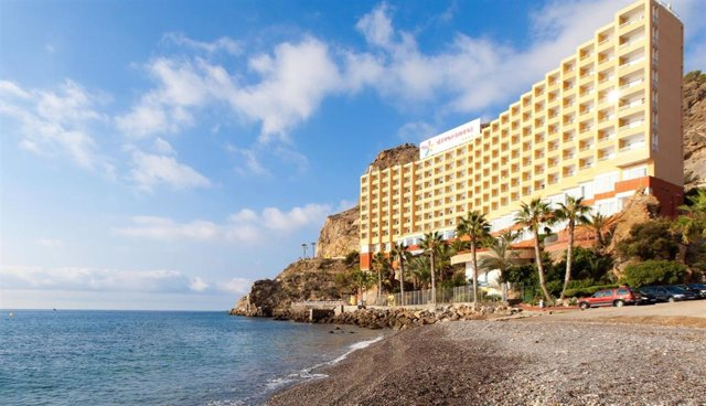 Archivo - Hotel habilitado como recurso habitacional frente al covid-19 en Almería
