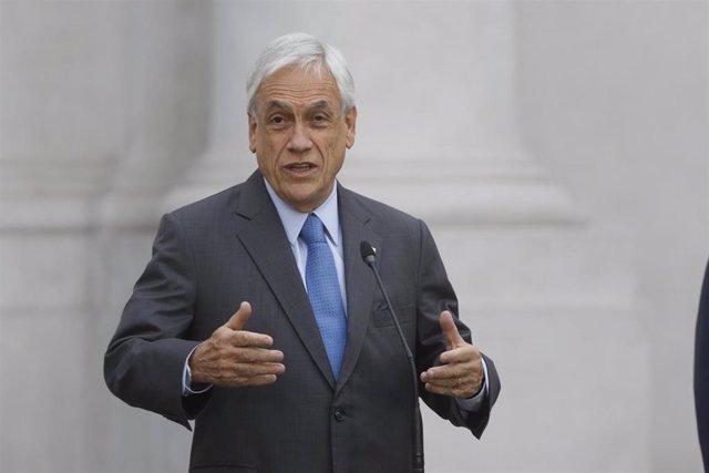 Archivo - El presidente de Chile, Sebastián Piñera.