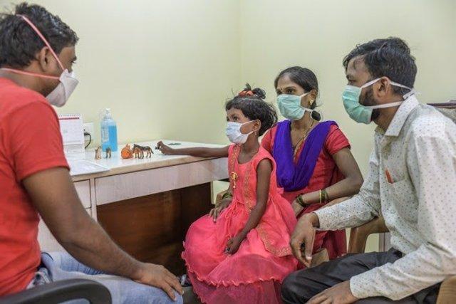 Foto recurso de MSF sobre tuberculosis.