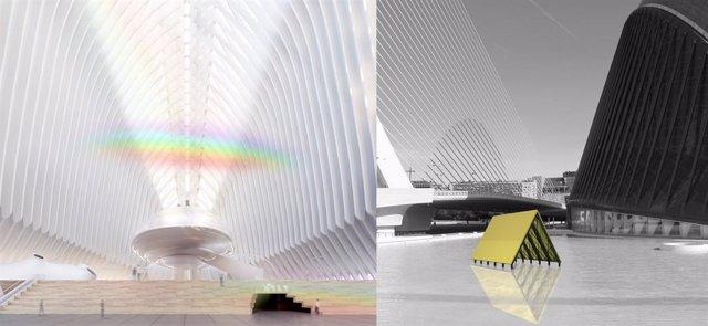 Projectes 'Arc al cel' d'Inma Femenía i 'Palafit' d'Anna Talens per al futur Caixaforum València