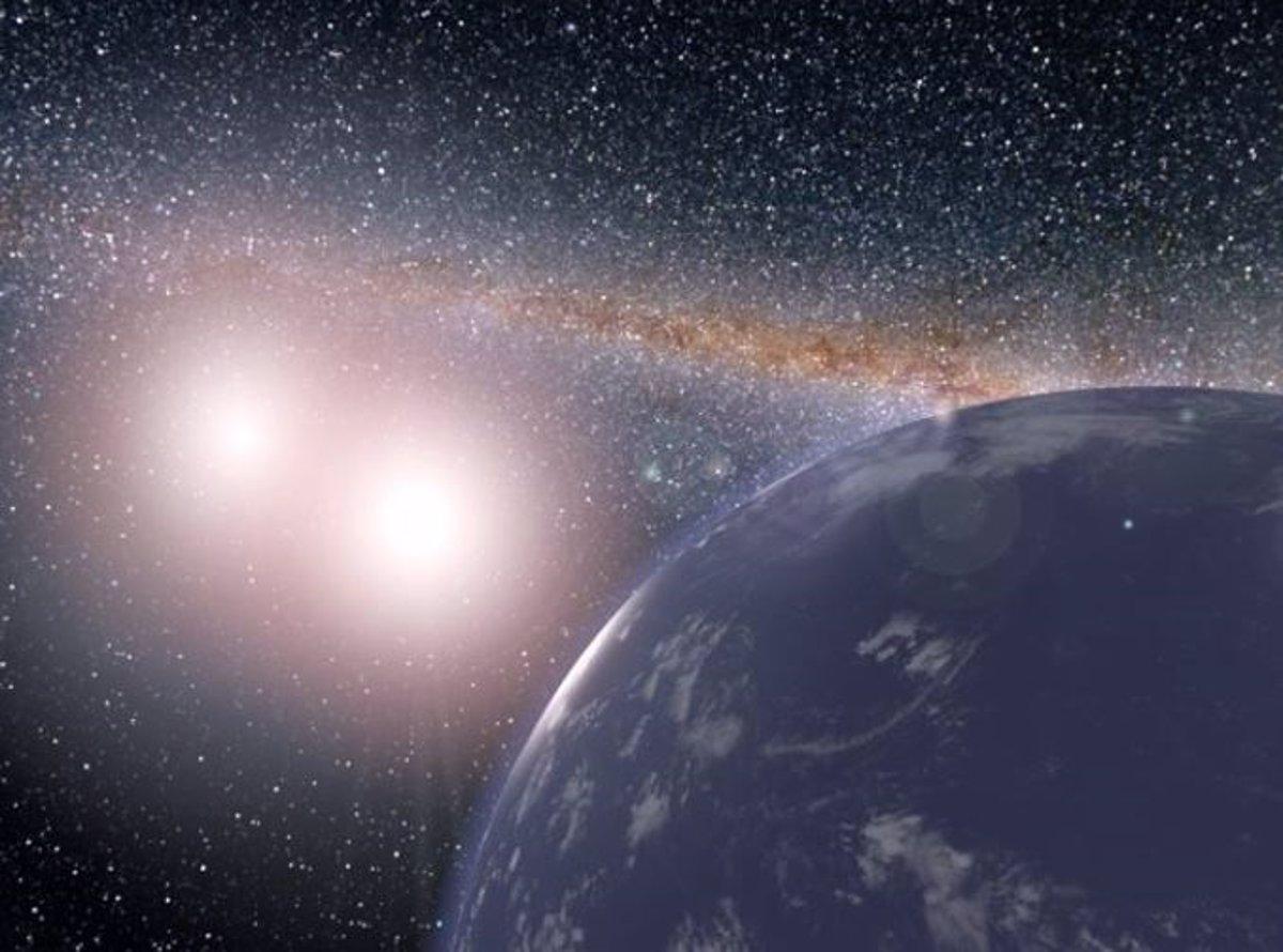 Identifican cinco sistemas binarios potencialmente aptos para la vida