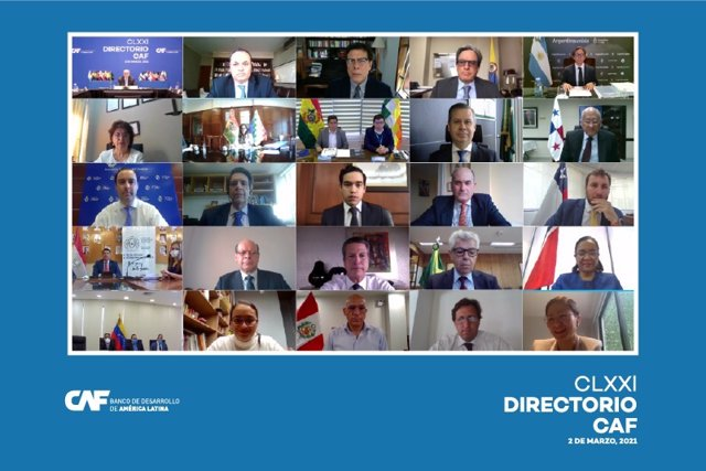 Archivo - Reunión del directorio de CAF, el banco de desarrollo de América Latina