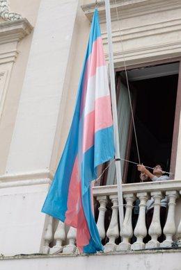 Archivo - Arxiu - Bandera trans.