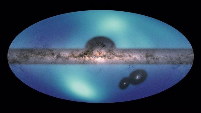 Nuevo Mapa Celeste De Los Alcances Exteriores De La Vía Láctea