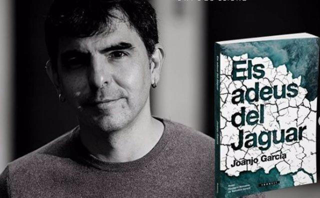 L'escriptor Joanjo Garcia publica en Bromera 'Els adeus del Jaguar'
