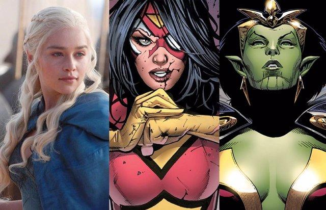 ¿Qué Personaje Marvel Interpretará Emilia Clarke En Secret Invasion?