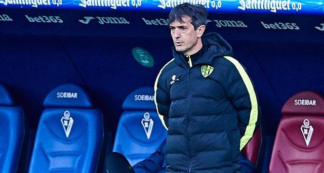 Archivo - Pacheta, entrenador del Huesca