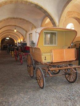 Archivo - Carruajes expuestos en Caballerizas, en una imagen de archivo.