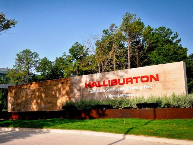 Archivo - Oficinas de Halliburton en Houston (Texas).