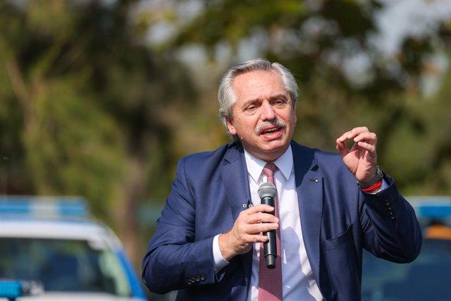 El president d'Argentina, Alberto Fernández.