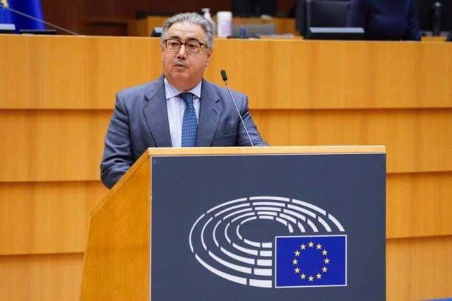 El eurodiputado del PP Juan Ignacio Zoido, en una foto de archivo.