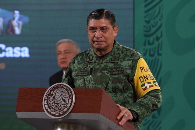 El ministro de Defensa de México, Luis Sandoval