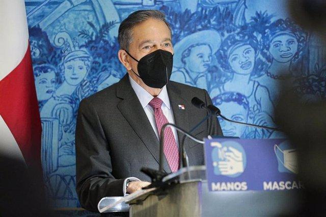 Archivo - Laurentino Cortizo, presidente de Panamá
