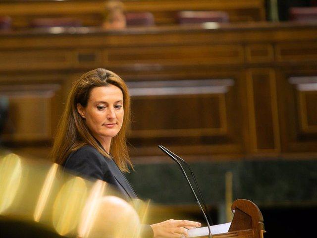 Archivo - Arxiu - Valentina Martínez Ferro, portaveu del PP en  la Comissió d'Exteriors del Congrés.