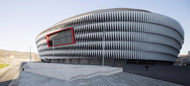 Archivo - Estado de San Mamés por el que Idom ha sido galardonado con uno de los World Design Awards de Arquitectura
