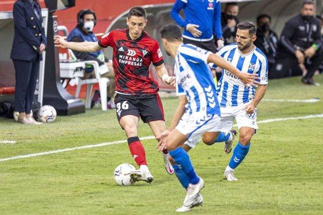Mirandés y Tenerife empatan sin goles en Anduva