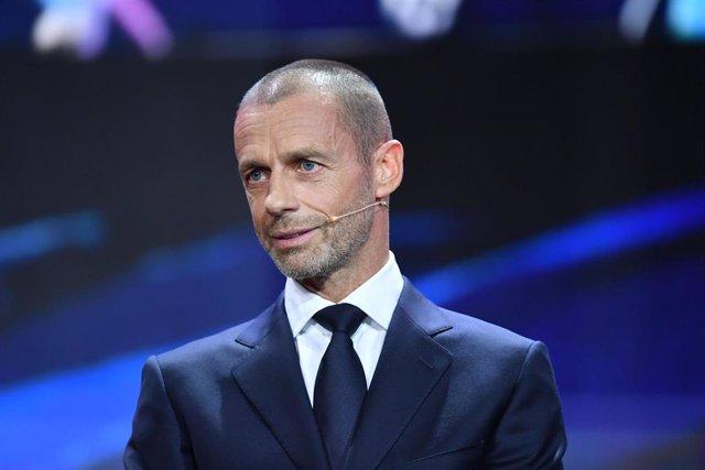 Archivo - Aleksander Ceferin, presidente de UEFA