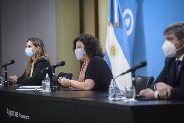 La ministra de Salud de Argentina, Carla Vizzotti.