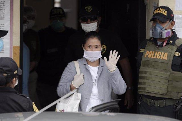 Archivo - La líder de Fuerza Popular, Keiko Fujimori