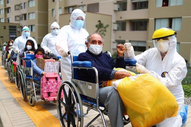 Archivo - Crisis sanitaria provocada por el coronavirus en Perú