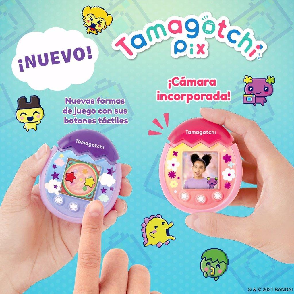 Tamagotchi regresa renovado con cámara, pantalla a color y botones táctiles para cuidar y alimentar a tu mascota