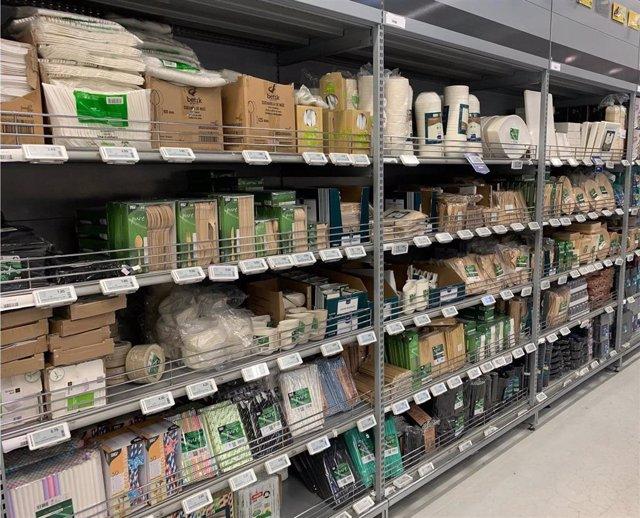 Archivo - Las restricciones a la hostelería disparan la demanda de productos 'food delivery' y 'take away' un 17%