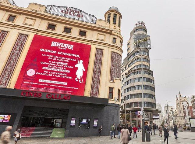 Archivo - Campaña de Beefeater para impulsar la hostelería