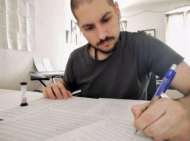 Arxiu - El compositor canari José Luis Perdigón.