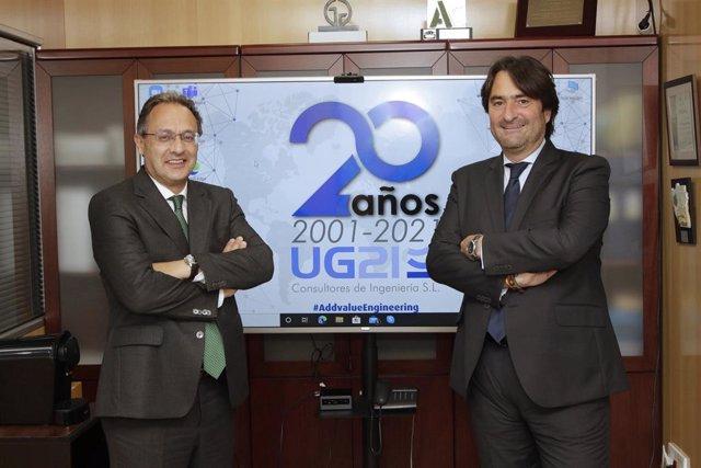 El presidente de la compañía, Ozgur Unay Unay, y el consejero delegado y responsable del negocio internacional, Manuel González Moles.