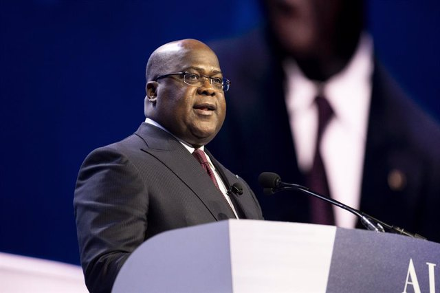 Archivo - El presidente de RDC, Felix Tshisekedi