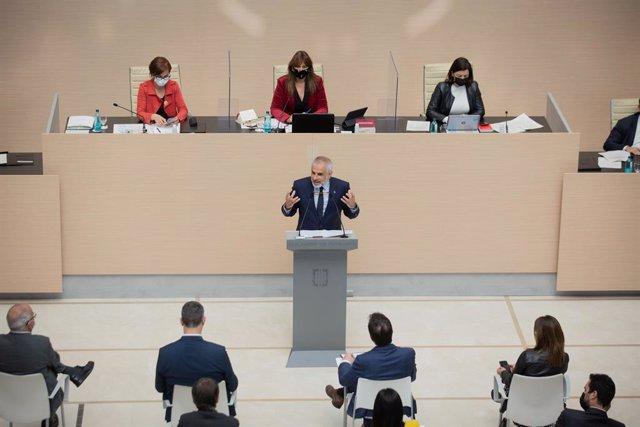 Arxiu - El líder de Cs a Catalunya, Carlos Carrizosa.