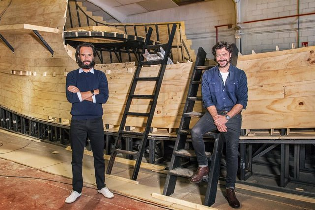 Rodrigo Santoro y Álvaro Morte serán Magallanes y Elcano en la miniserie 'Sin Límites'
