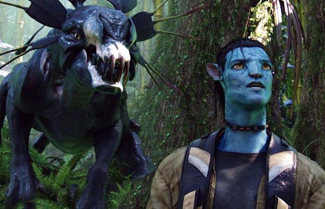 Nuevas fotos de Avatar 2 con los niños Na'vi y los caballos alien de Pandora