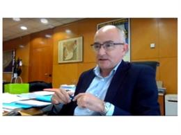 Arxiu - El secretari general de la Conselleria de Territori i Sostenibilitat, Ferran Falcó.
