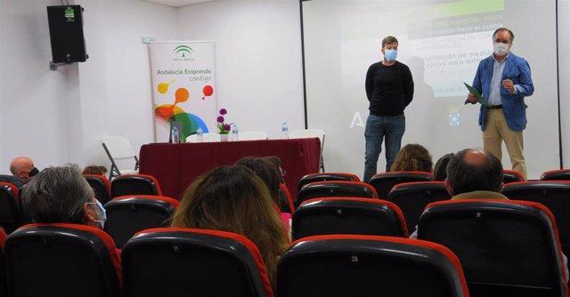 El delegado territorial de Empleo, Formación, Trabajo Autónomo, Transformación Económica, Industria, Conocimiento y Universidades, Antonio Augustín.