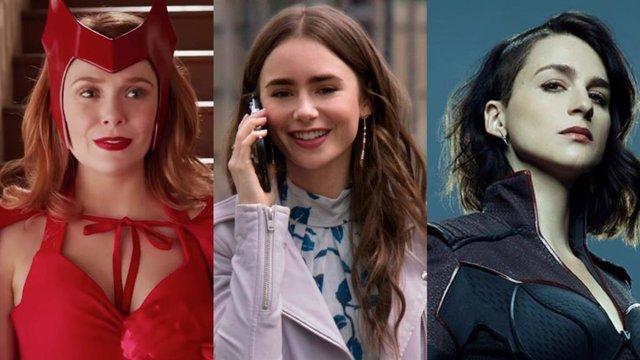 WandaVision, Emily en París y The Boys lideran las nominaciones de los MTV Movie & TV Awards 2021