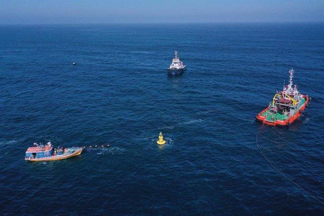 Enel instala en Chile el primer convertidor a escala completa de energía de olas en Latinoamérica