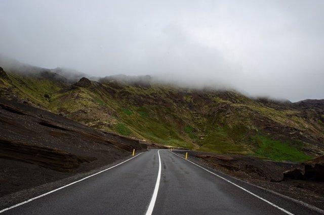 Archivo - Foto recurso de una carretera