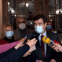 Archivo - Arxiu - El portaveu de Ciudadanos (Cs) en l'Ajuntament de València, Fernando Giner.